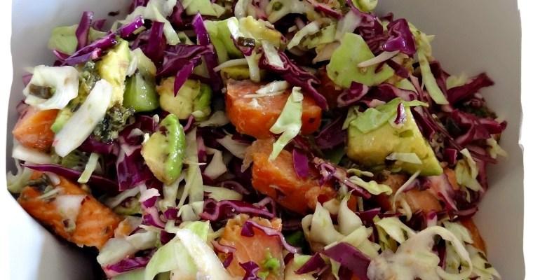 Salade composée minceur et détox