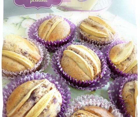 Muffin myrtilles-pomme