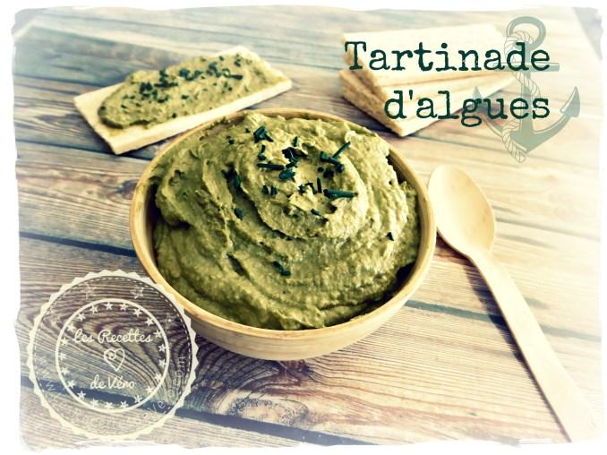 Tartinade d'algues