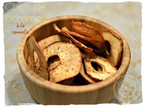 Chips de pommes à la cannelle -: une recette super facile à réaliser