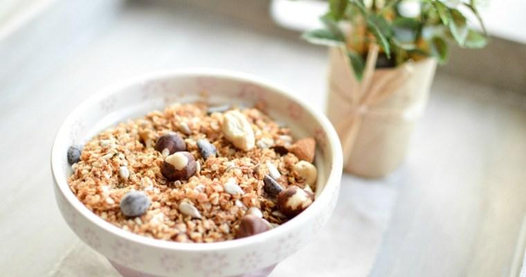 Comment réaliser facilement un granola vegan maison sans gluten ?