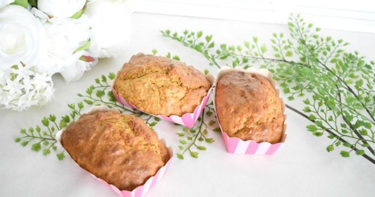 Muffins aux carottes pommes sans gluten
