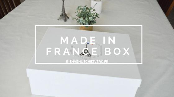 J'ai testé la Made in France Box {code promo inside}