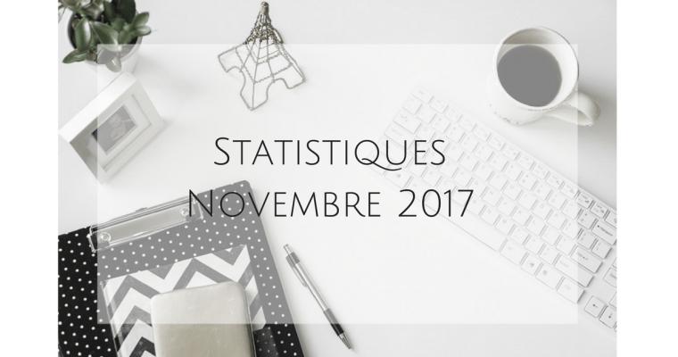 Statistiques – Novembre 2017