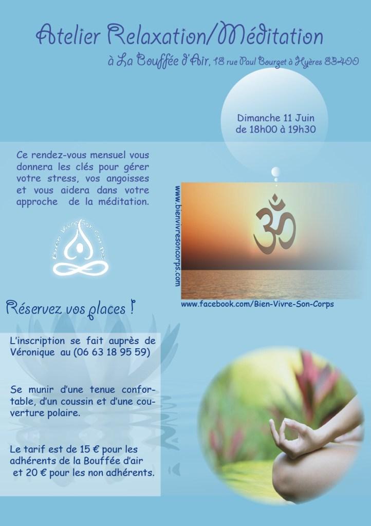 Méditation Juin - La Bouffée d'air