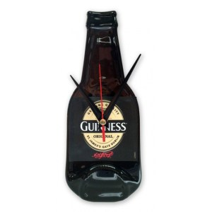 Originele Guinness bierfles klok -