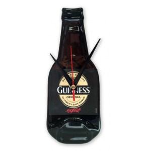 Originele Guinness bierfles klok