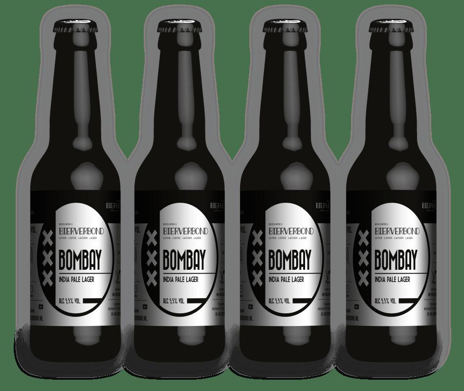 Bombay - India Pale lager van Brouwerij Bierverbond Amsterdam