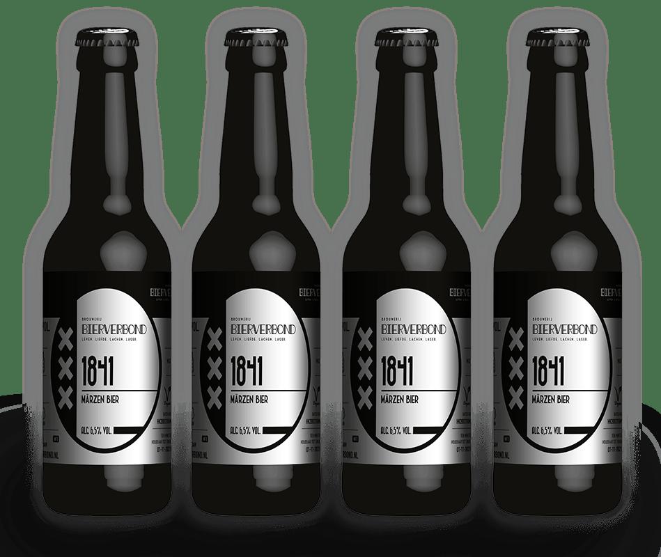 1841, Marzen bier van Brouwerij Bierverbond Amsterdam