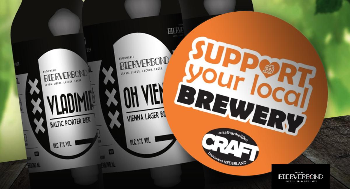 Support your local brewery - het Bierverbond Amsterdam