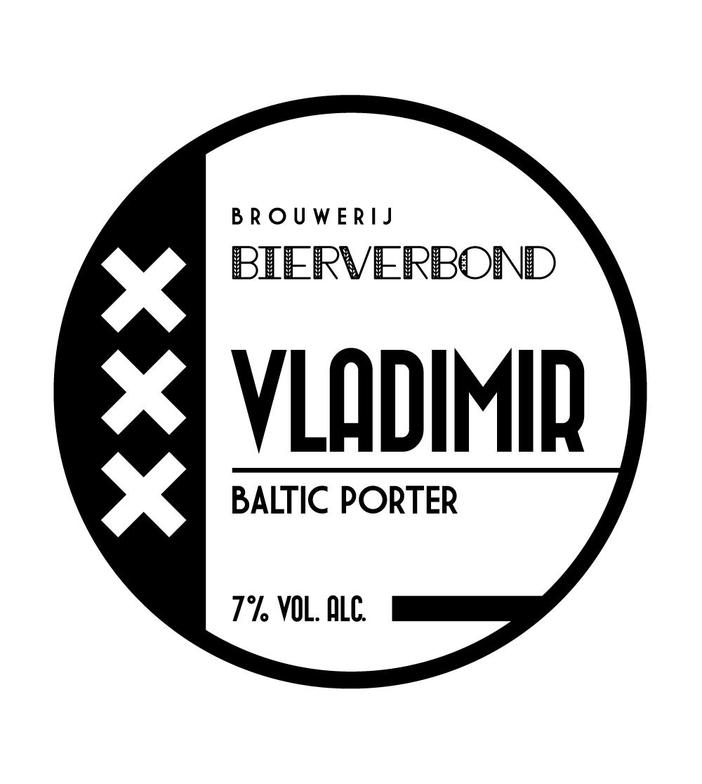 Vladimir Baltic Porter Tapruiter van Brouwerij Bierverbond Amsterdam