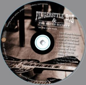 Fingerstyle Bob & The Blues Society – płyta na Allegro