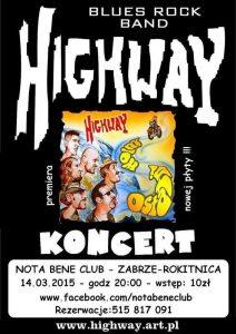 Highway–Ostatni wolny_premiera_plakat