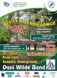 Blues_w_Lesniczowcw_2015_plakat