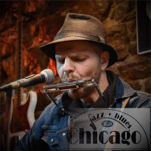 Arek Zawiliński w Chicago Organ Music Club