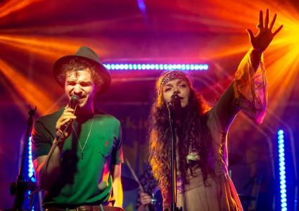 Tribute to Woodstock – Szczęsny & Kwiatkowska… – Bies Czad Blues 2019 – wideo 6
