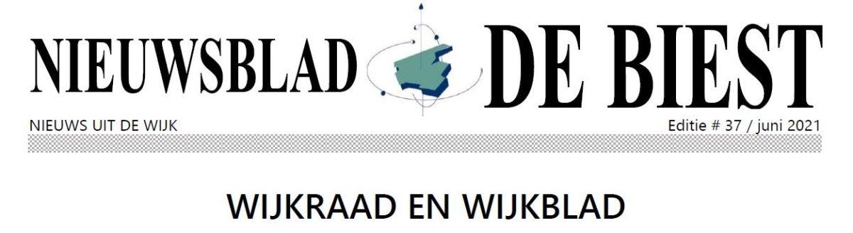 Nieuwsblad juni 2021
