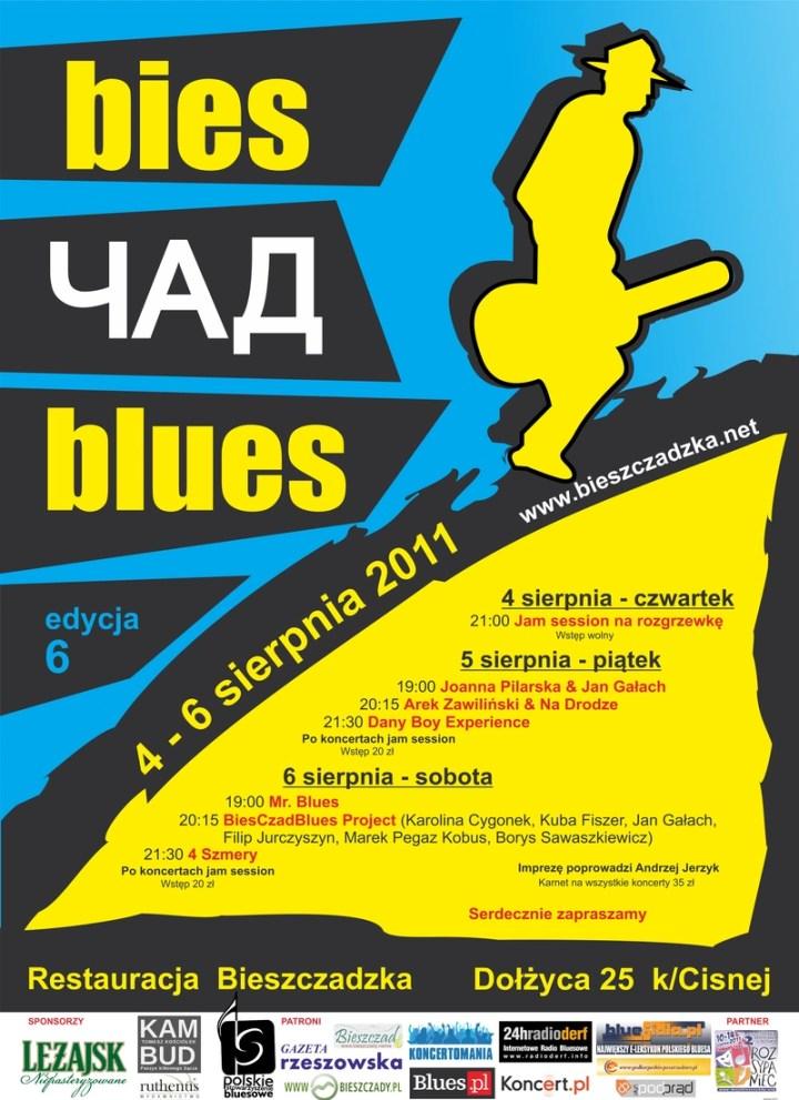 bies_czad_blues_2011_plakat
