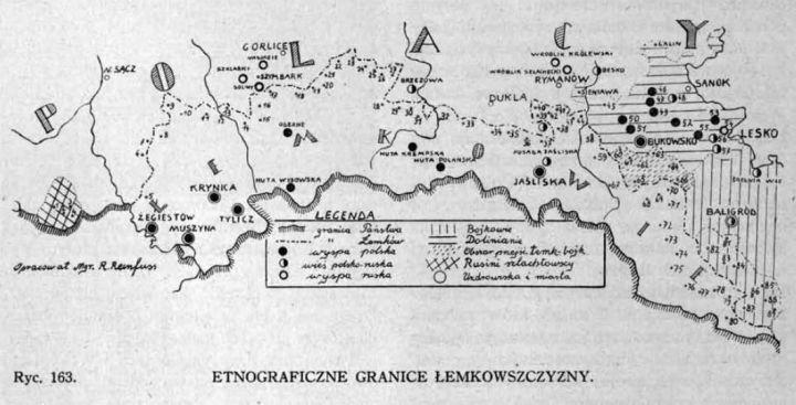 Lemkowie_granice_etnograficzne