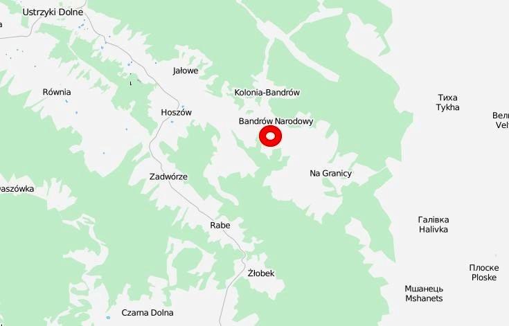 Bandrow_Narodowy_mapa