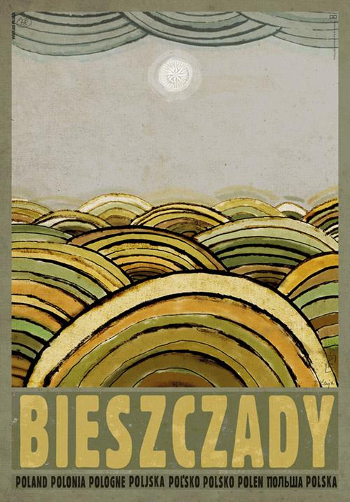 Bieszczady_poster_Ryszard_Kaja
