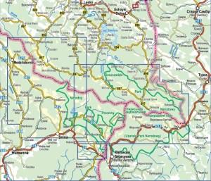 Bieszczadzkie Pogranicze 2015_obszar