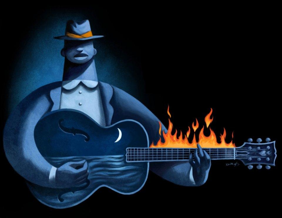 Blues av David de Ramón