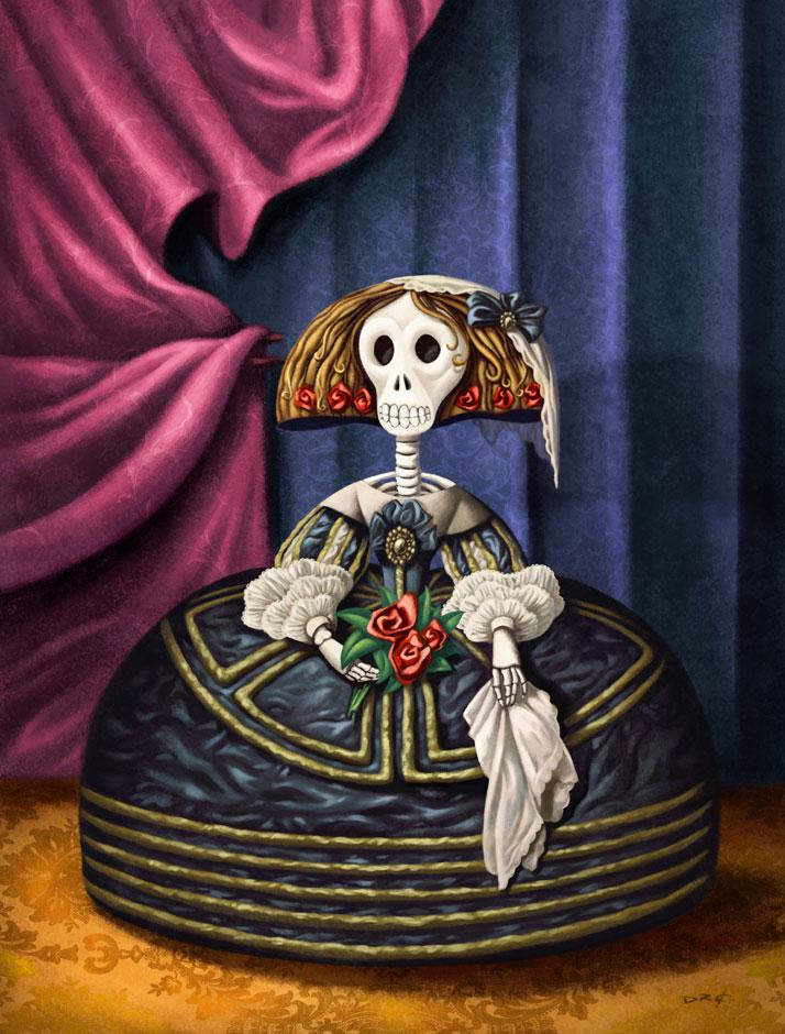 Menina Catrina av David de Ramón