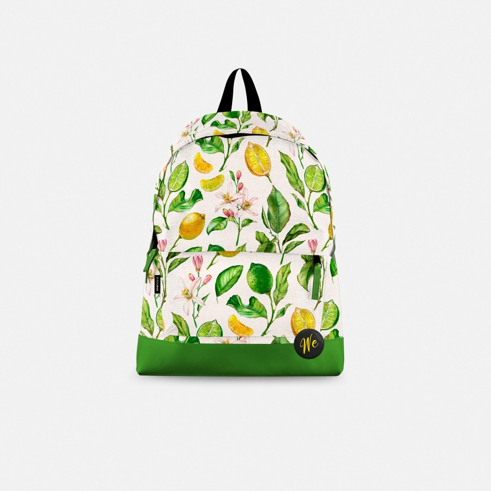 Lemon pattern bag Kateryna Savchenko