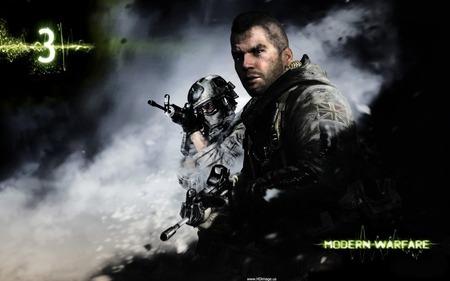 Everyone's favorite soldier, Soap McTavish.