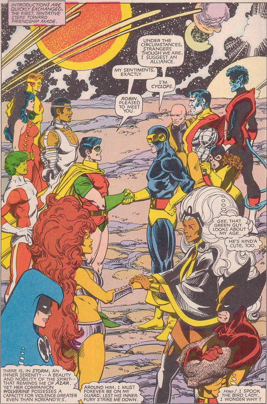 Tales From The Longboxtitanic Teams - The Uncanny X-Men