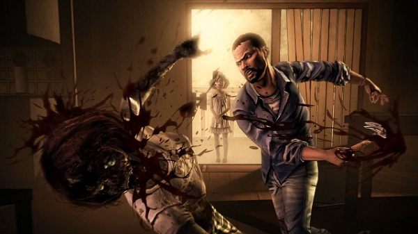 Gory violence...just because the game has a comic book look, it's still awesome.