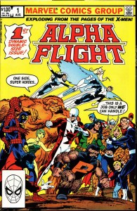 Alpha Flight #001 00