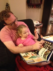 The writer and his princess