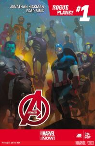 Avengers 24 cover