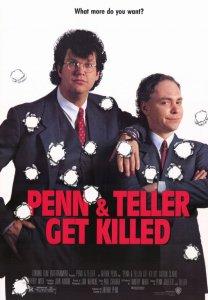 penn and teller get killed poster