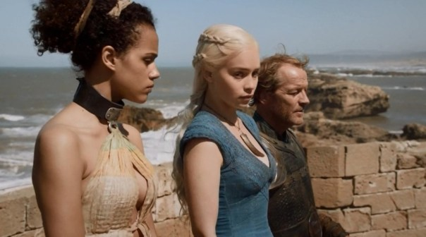 …really Missandei, I could use a wing man right about now...