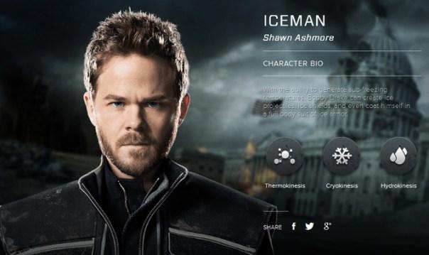 Shawn Ashmore as Bobby Draka aka Iceman