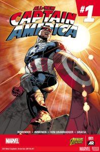 All New Captain America 1 cover