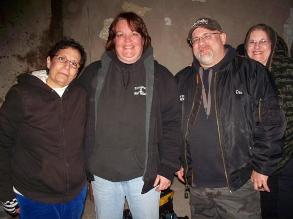 Marie, Marti, Dave, Sharon