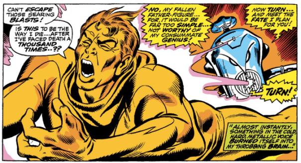 Ultron-1 prepares to mindwipe Hank Pym.