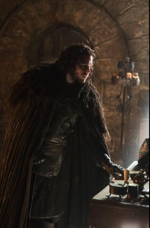 Jon Snow alone