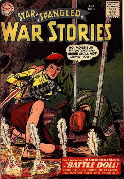 Cover of Star-Spangled War Stories #84. Art by Jerry Grandenetti