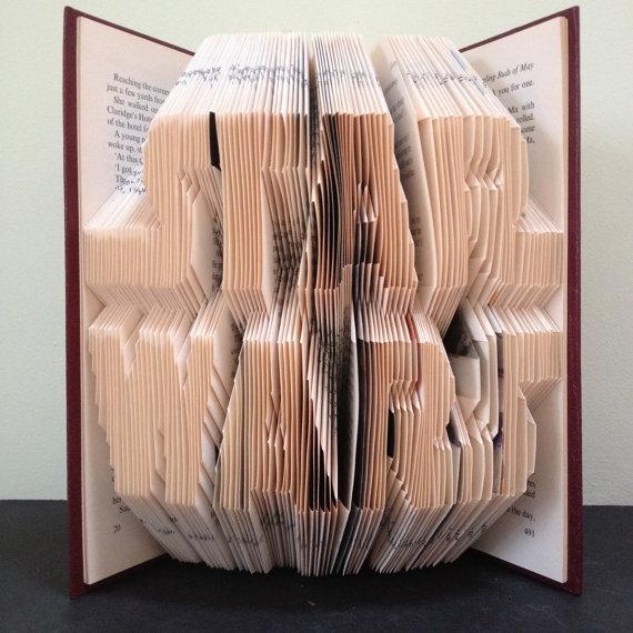 StarWars book folding pattern