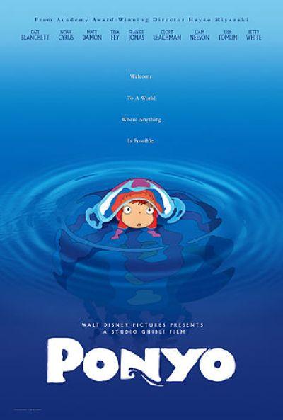 Ponyo movie poster