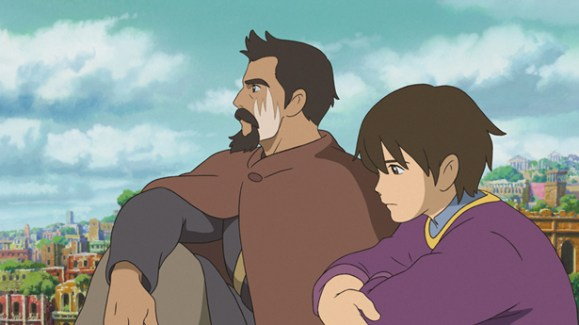 Tales from Earthsea Arren and Sparrowhawk