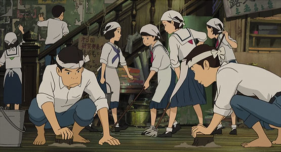 From Up on Poppy Hill cleaning