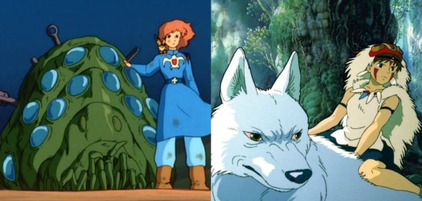 Nausicaa and Mononoke