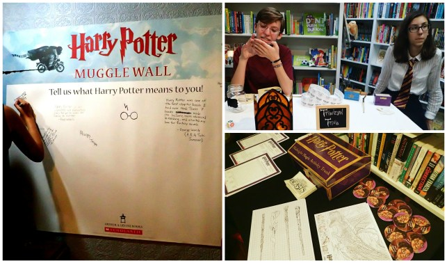 Harry Potter Release Party-Muggle Wall and Triva