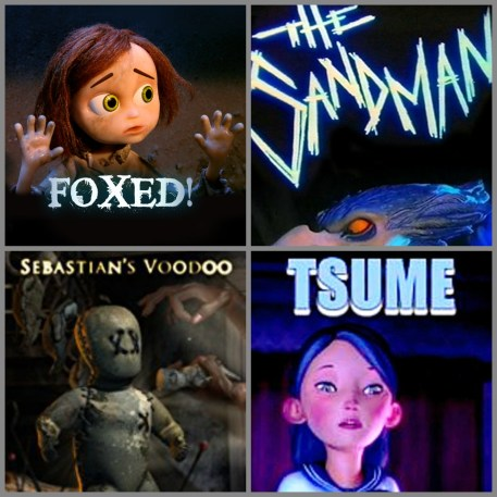 Animation shorts collage